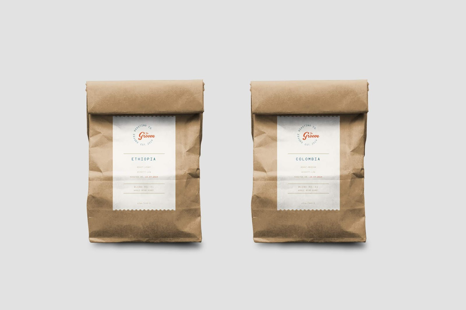 Groove Coffee 防潮袋2