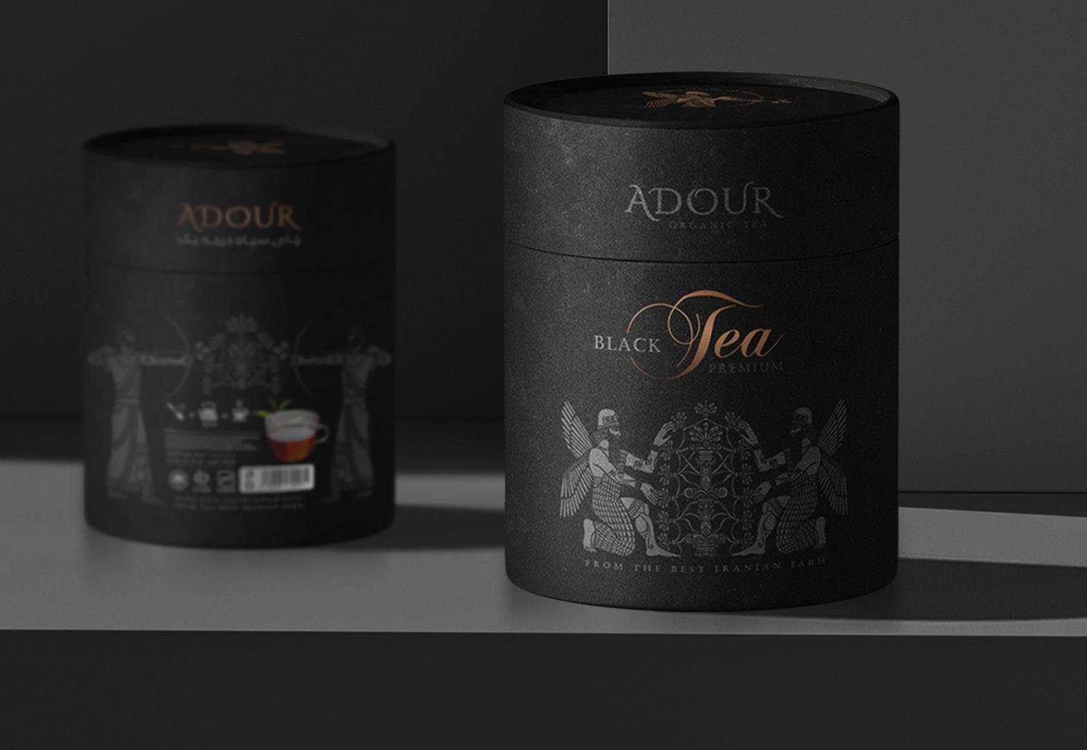 茶叶纸罐1