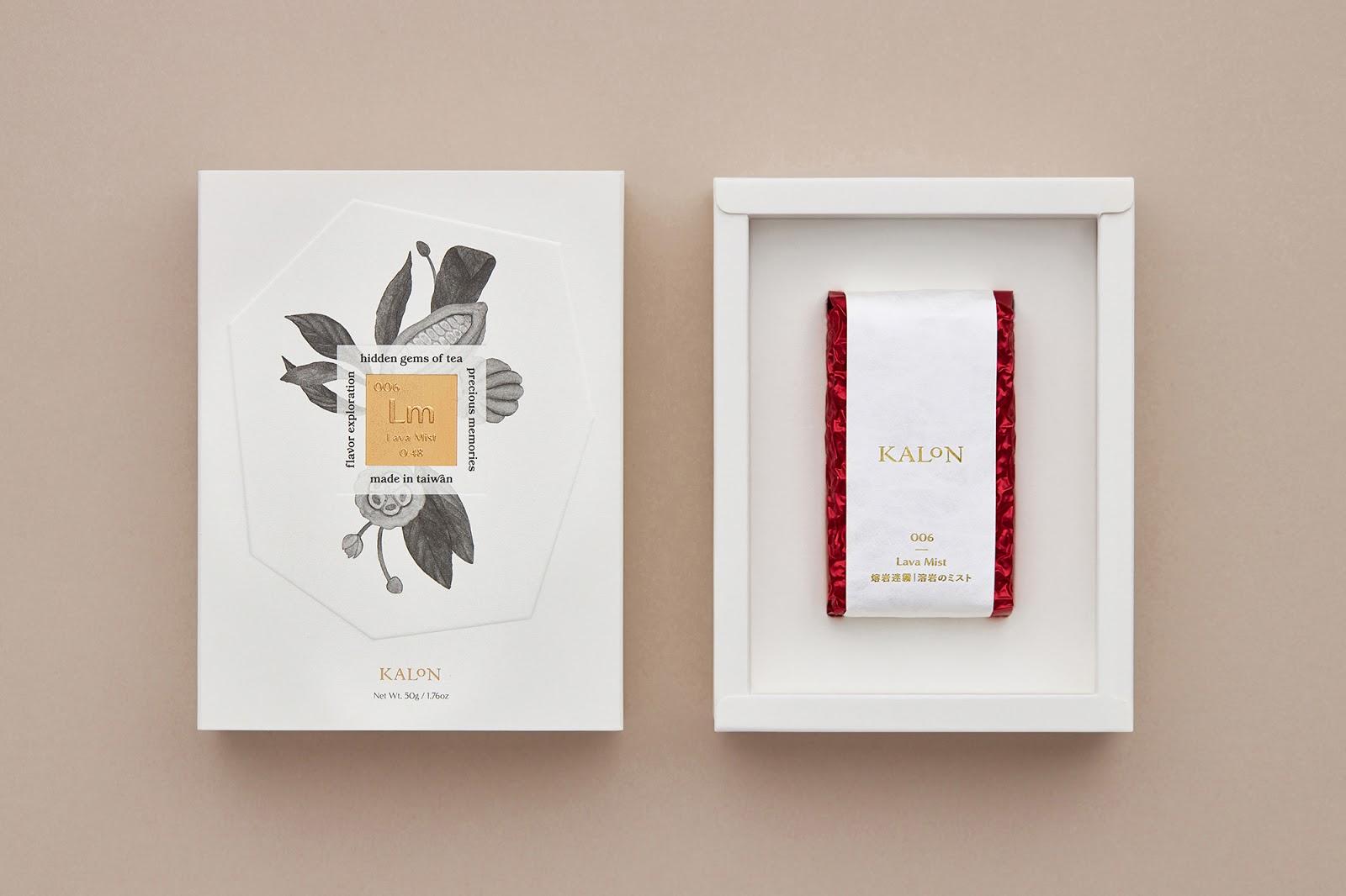 Kalon Tea 欧风花茶纸盒2