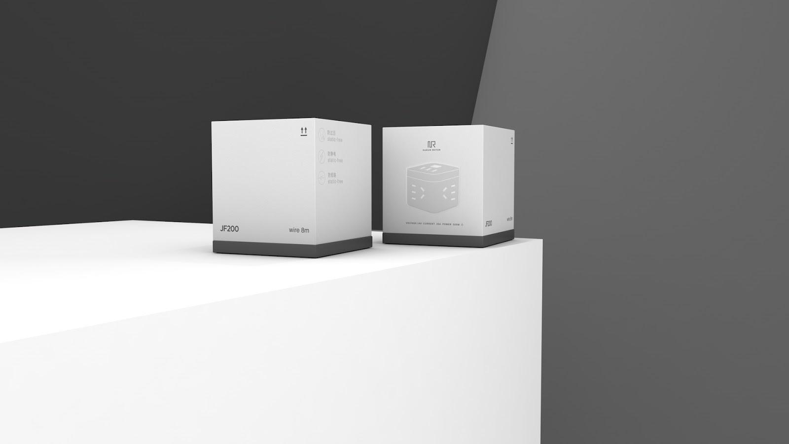 电子播放器包装盒