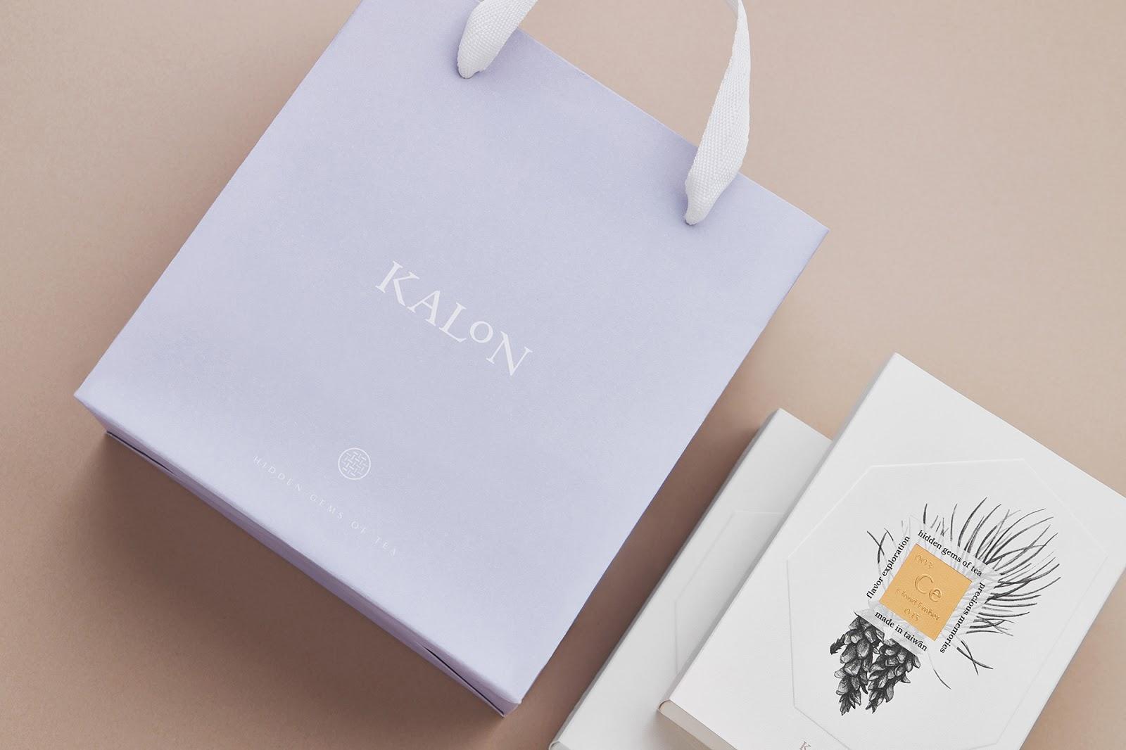Kalon Tea 欧风花茶手提袋