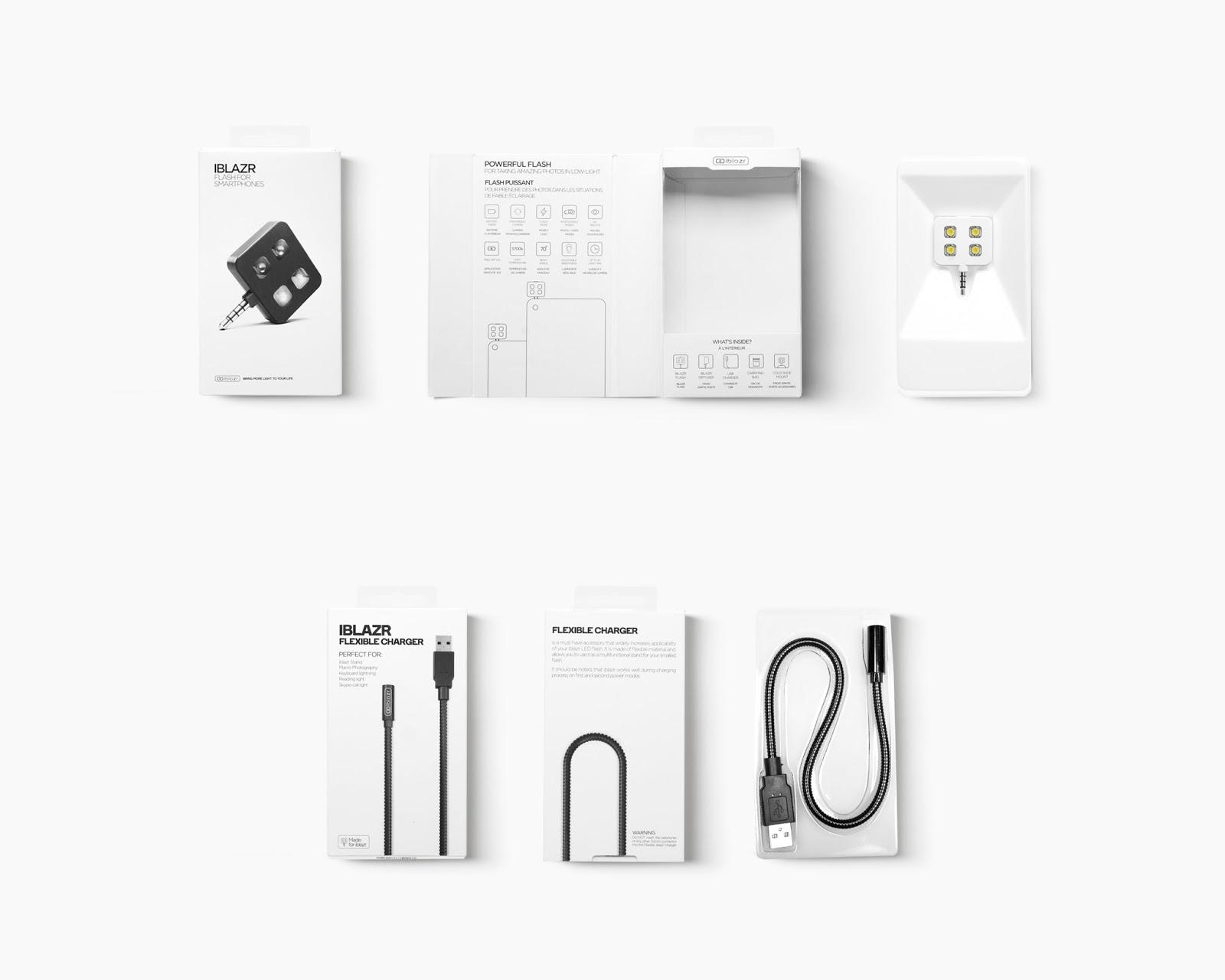 iBlazr 手机线材包装1