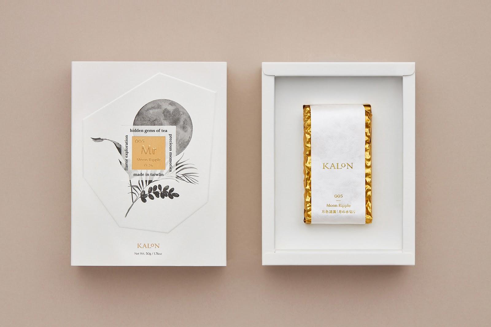 Kalon Tea 欧风花茶纸盒3