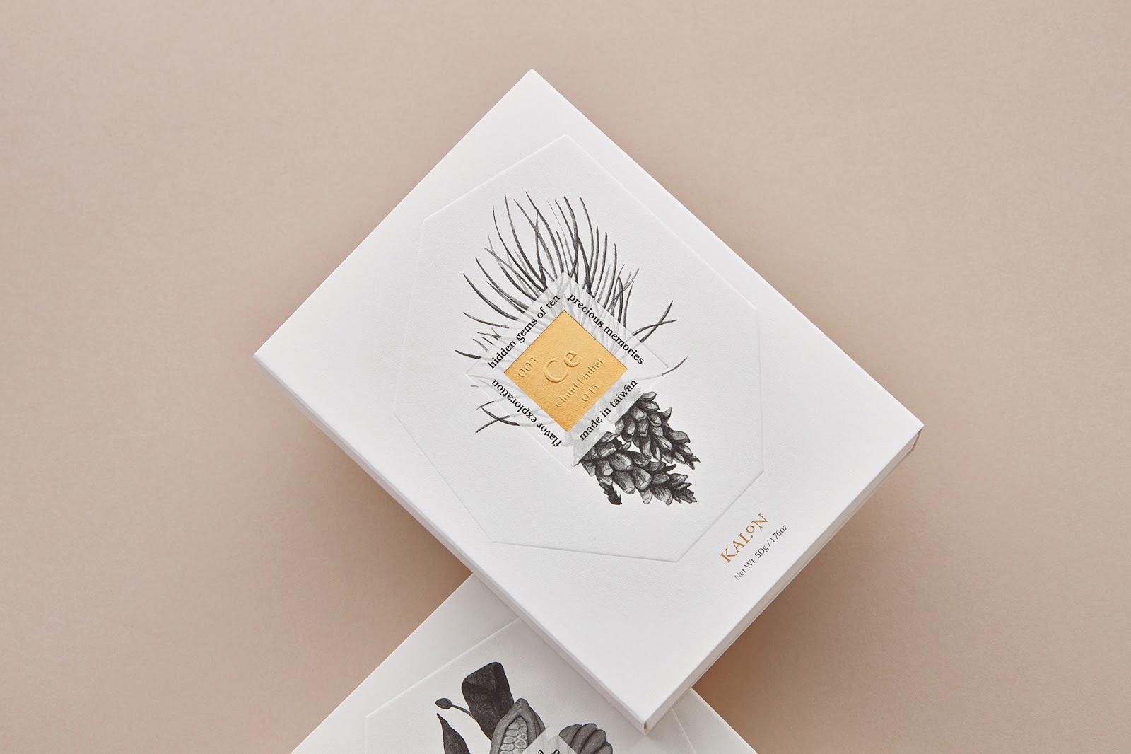 Kalon Tea 欧风花茶纸盒5