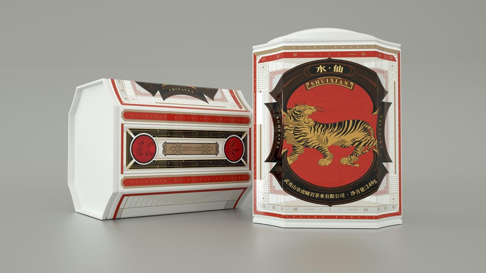 Wuyiyan Tea 图腾茶包装6