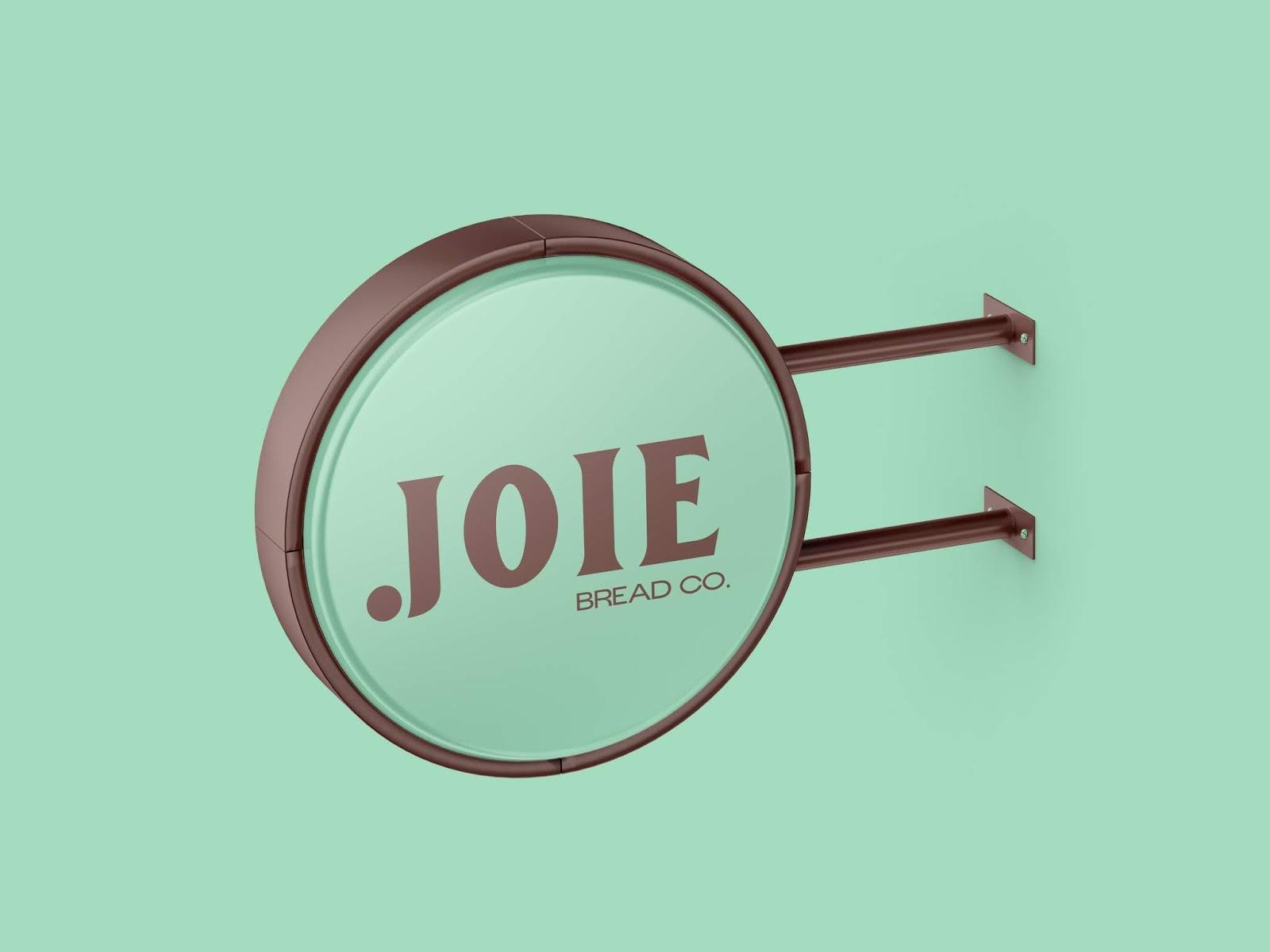 Joie-咖啡店灯箱