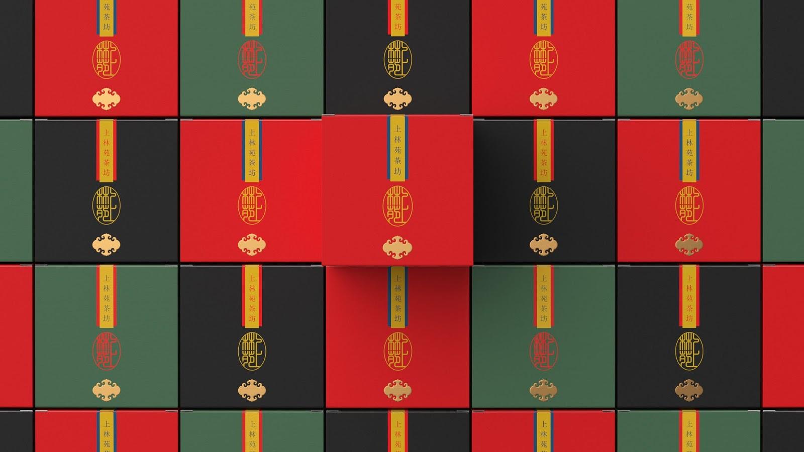 茶叶包装盒中国红