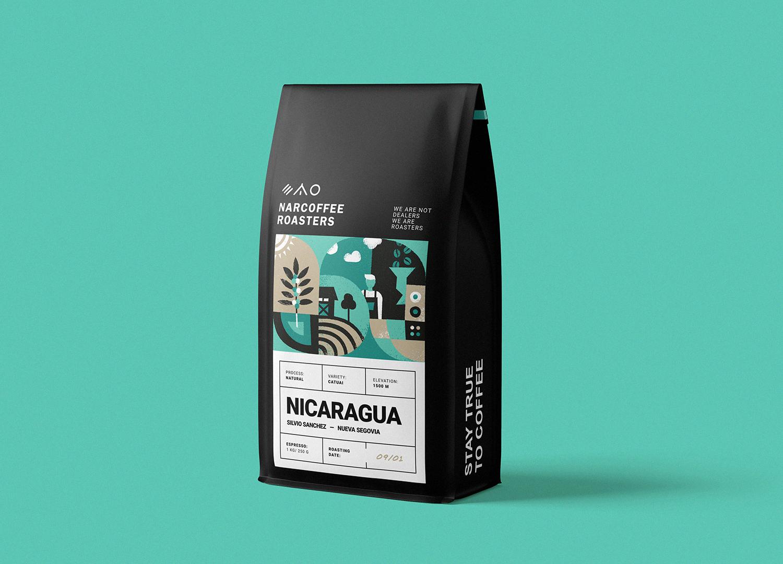 Narcoffee 咖啡袋