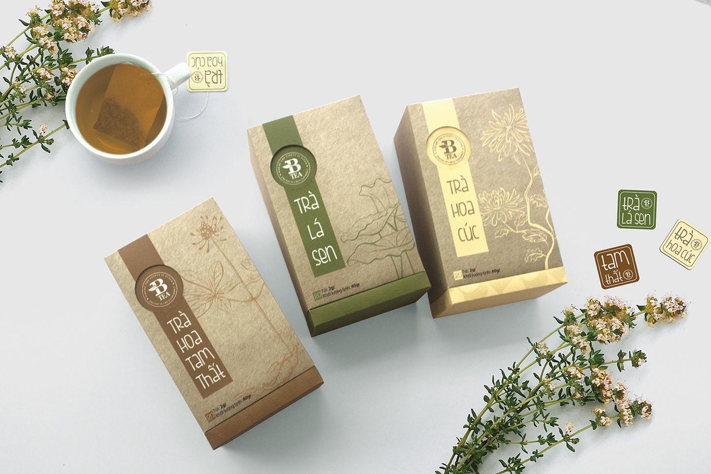 BTEA 越南花茶礼盒8