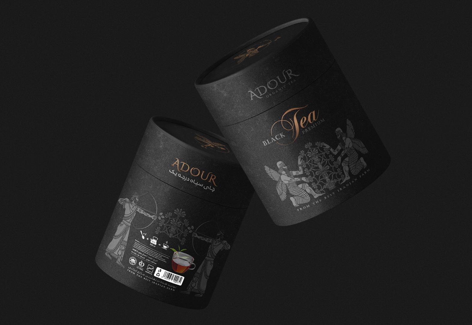 茶叶高档纸罐