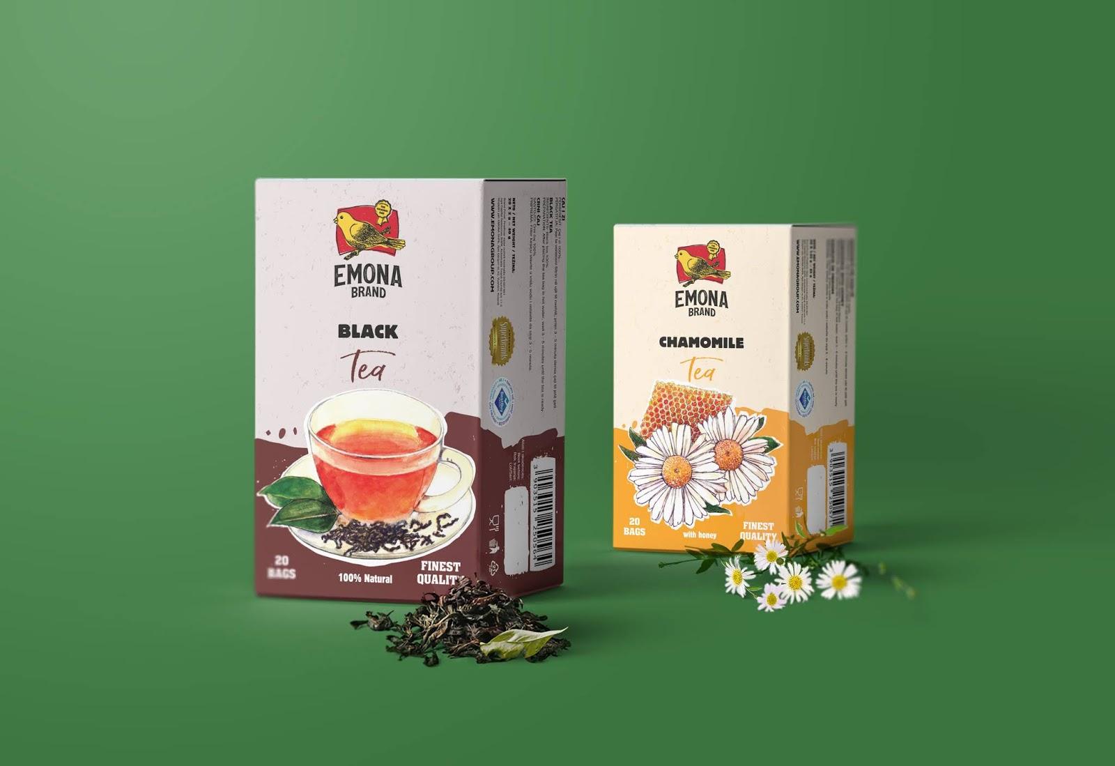 Ceylon Black Tea 红茶包装