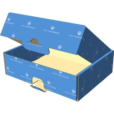 721一体成型盒_盖前面外插_指甲扣+安全扣_微坑2