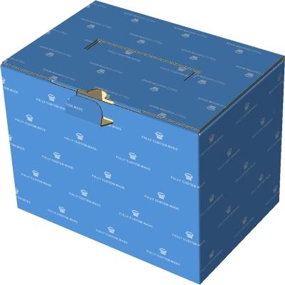 727手提盒_手提扣盒_塑胶提把_锁底_微坑2-1