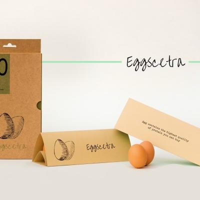 Eggscetra 蛋品创意包装8