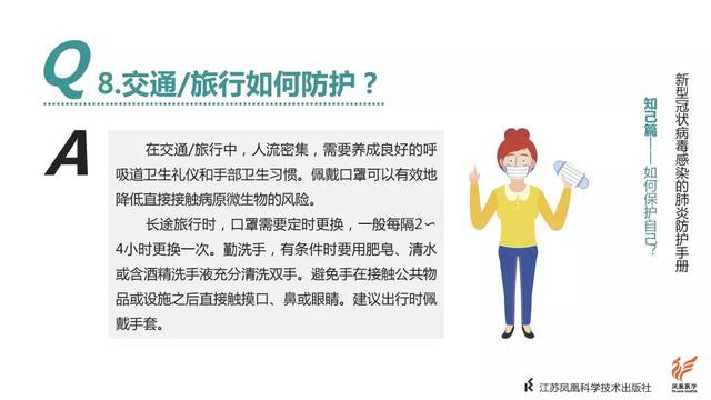 凤凰医学|《新型冠状病毒感染的肺炎防护手册》正式发布!请扩散!