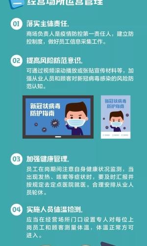 新冠肺炎公众预防指南之三十二(商场卫生篇)-1