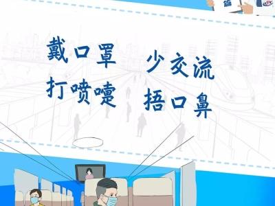 防控新冠肺炎——客运场站及交通运输工具海报(客运篇)1