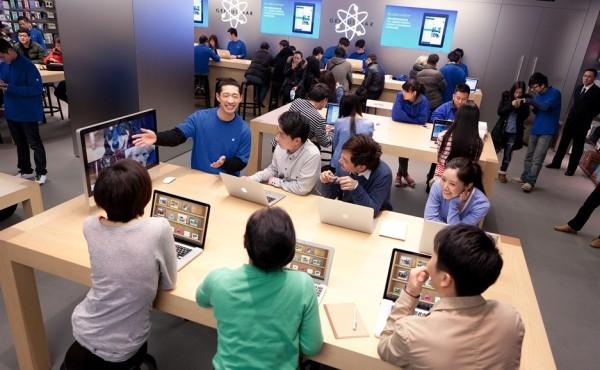 苹果Genius Bar营业时间