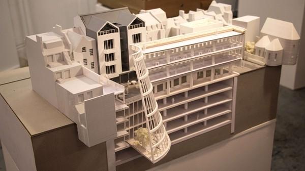 建筑设计领域应用3D打印,3D打印案例