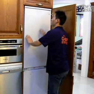 CHEF厨师全嵌入式冰箱安装视频