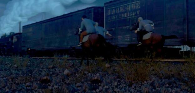 角色动画火车劫案
