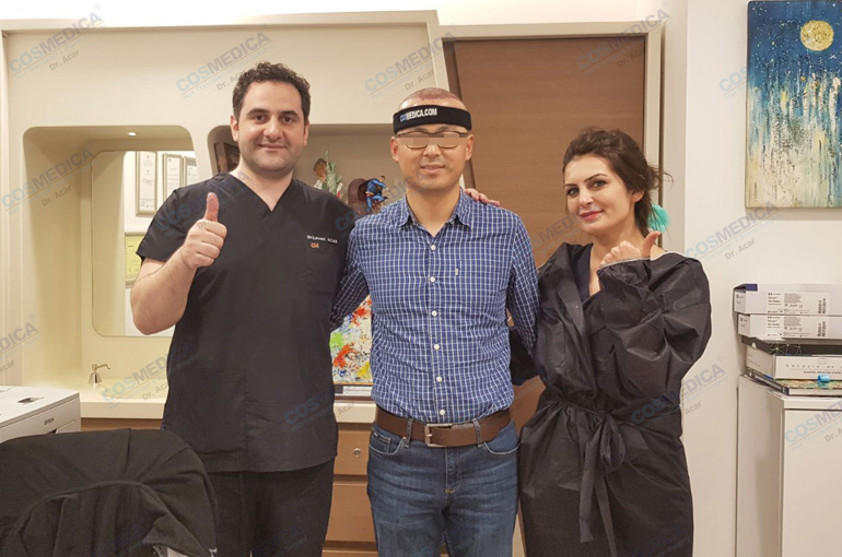 植发手术是怎样完成的?FUE植发术具体包括哪几个阶段?