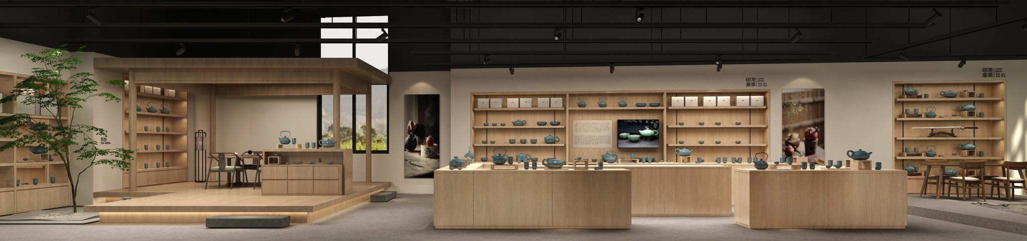 龙泉青瓷-产品展厅空间设计-达岸杭州品牌策划设计公司
