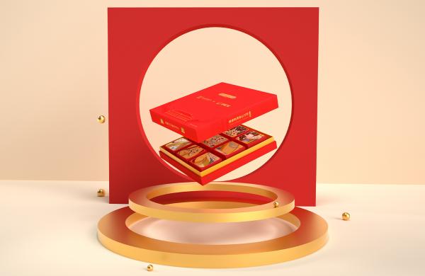 食品包装策划设计-伊纪家月饼包装设计-达岸品牌营销咨询