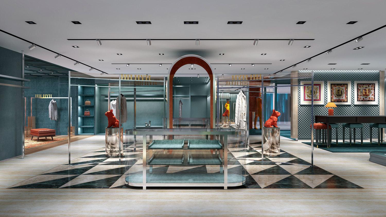 潮牌服装店设计-新零售空间设计-达岸品牌营销咨询