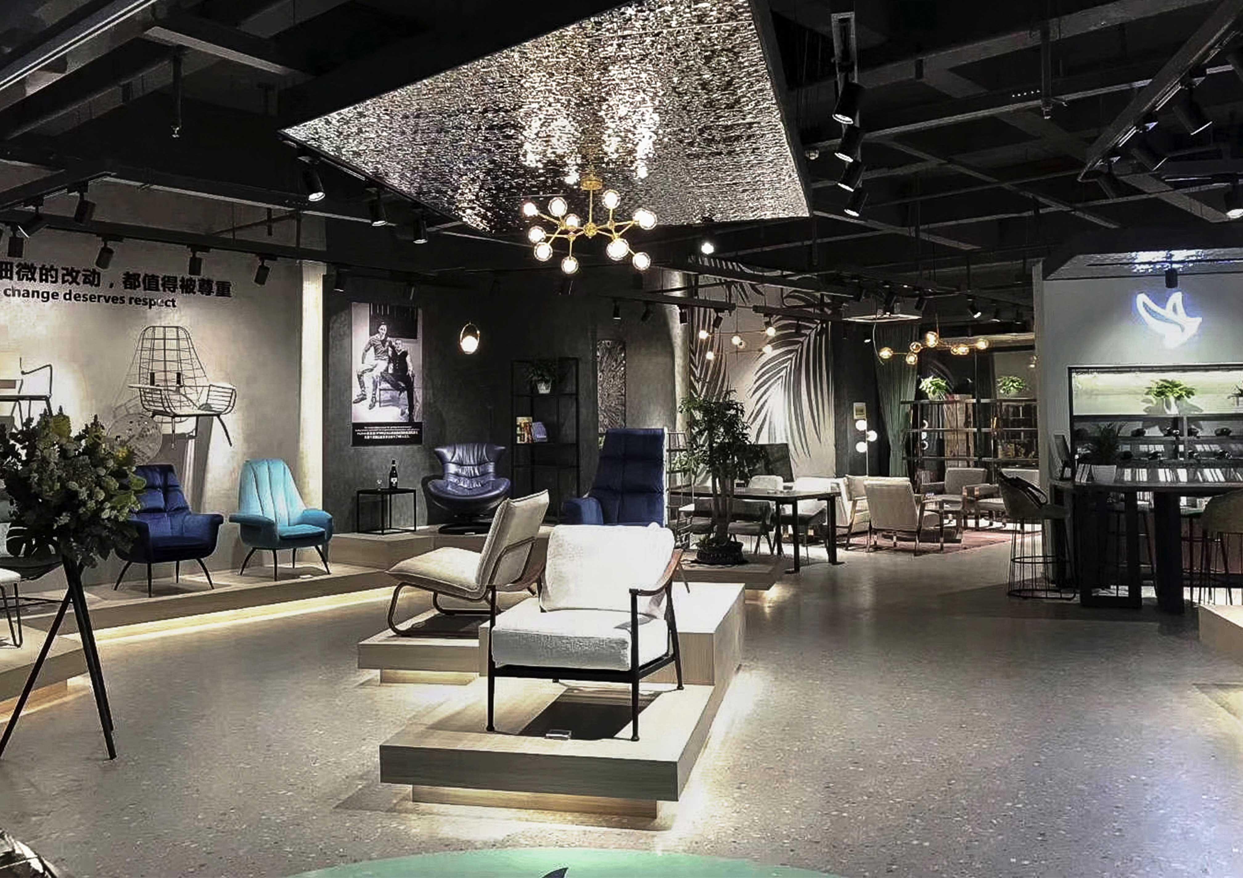 家具产品展厅设计-华祺家具