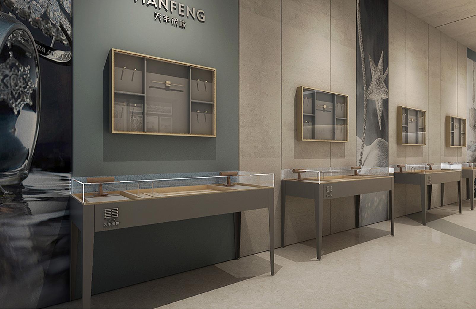 天丰银楼-产品展厅设计-门店设计