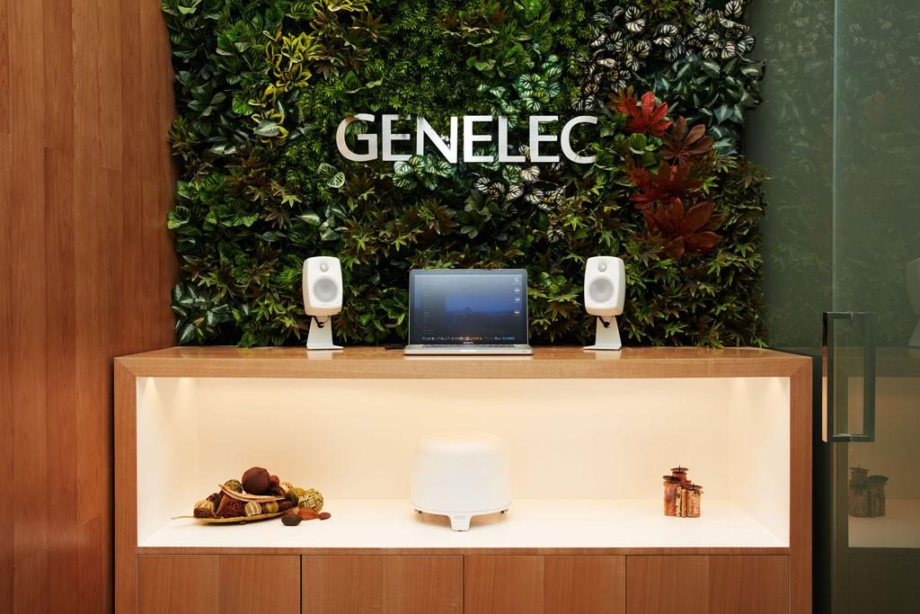 Genelec 真力官方体验店(北京国贸店)桌面体验区