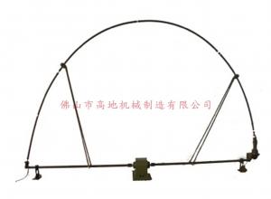 短波弓型天线防水倒伏装置