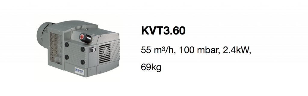 KVT3.60 all-growth.com oil-free pump page