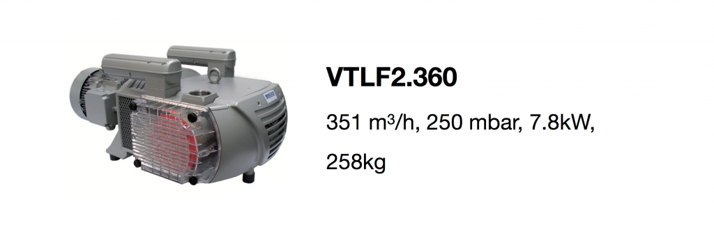 VTLF2.360 all-growth.com oil-free pump page
