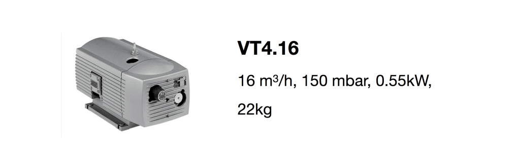 VT4.16 all-growth.com oil-free pump page