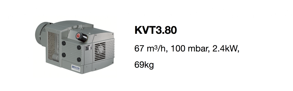KVT3.80 all-growth.com oil-free pump page
