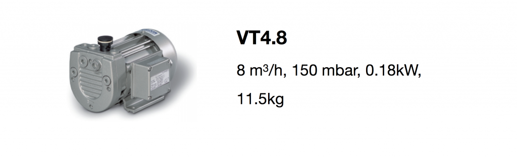 VT4.8 all-growth.com oil-free pump page