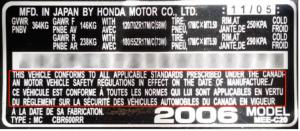 加拿大机动车整车认证