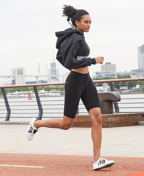 零限0limit五分短裤瑜伽裤女夏季薄款百搭显瘦健身运动跑步紧身