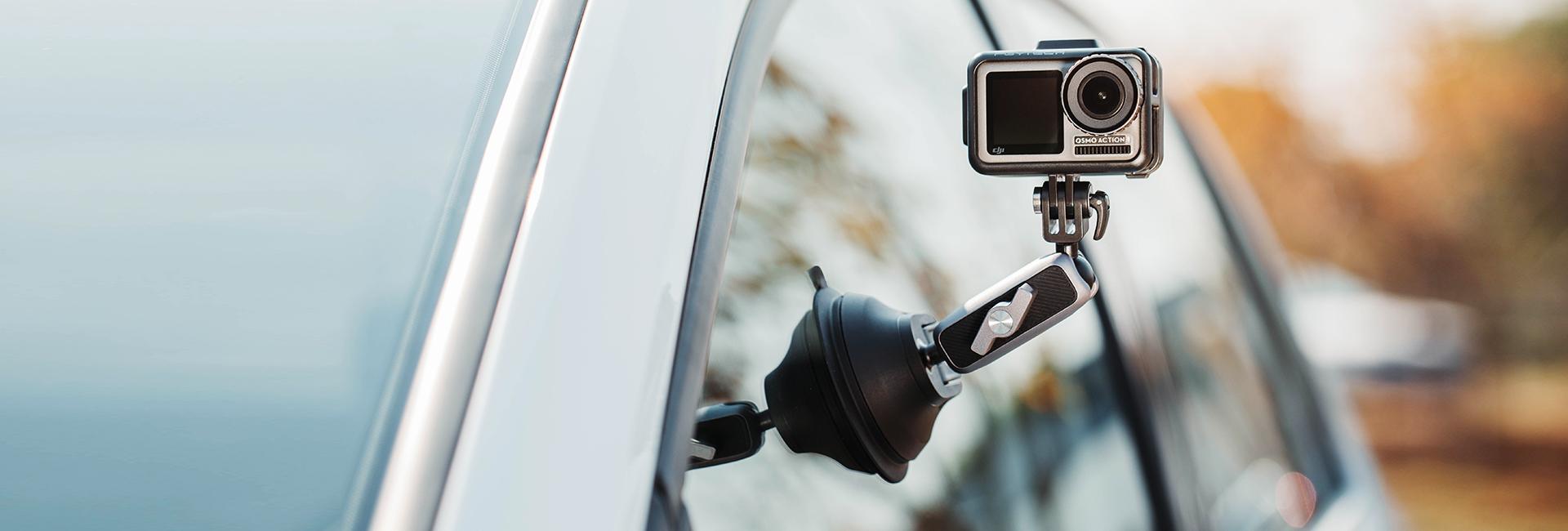 运动相机吸盘支架-海报