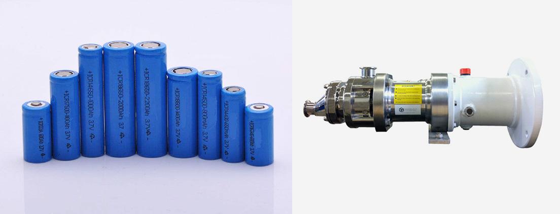 锂电池螺杆泵