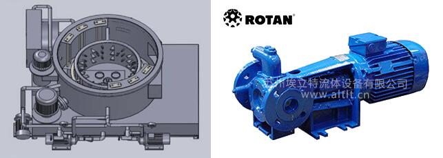 淬火槽、Rotan齿轮泵、油过滤清洗系统