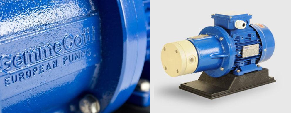 磁力驱动滑片泵