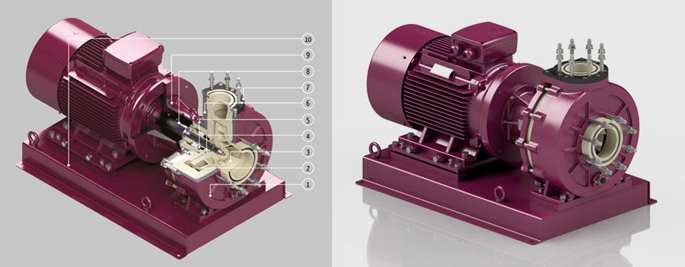 金属铠装化工泵
