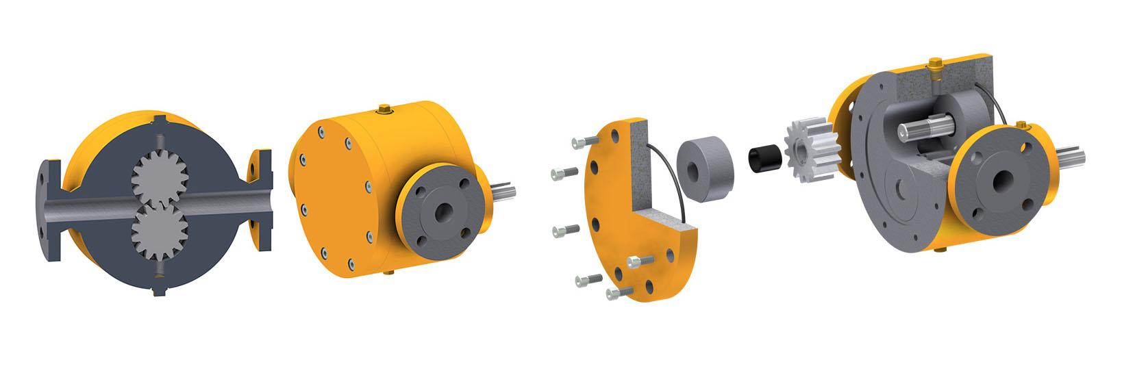 高温高压高粘度测试平台泵
