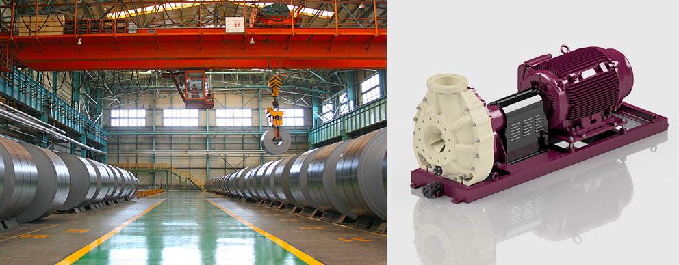 钢铁工业金属表面处理泵