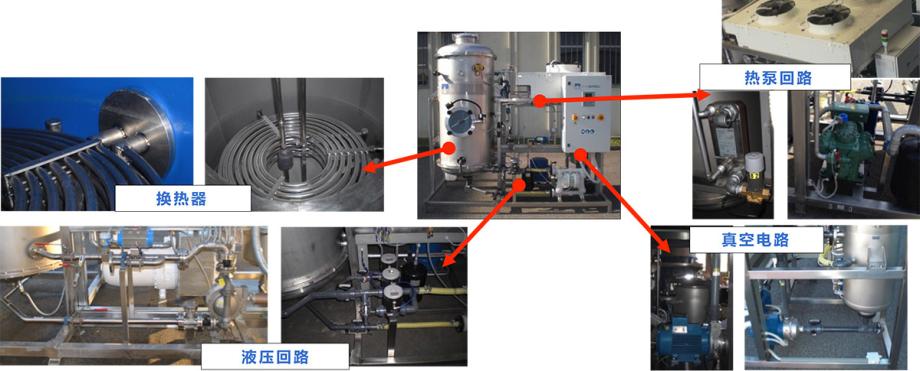 低温蒸发器结构