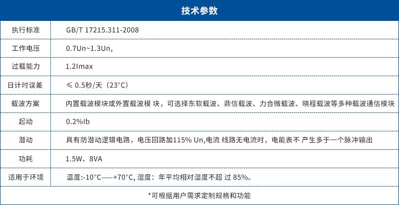 DDSI226单相电子式载波电能表