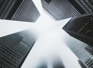 downtown skyscrapers 市中心摩天大楼